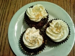 Chocolate Graham Cracker Cupcakes